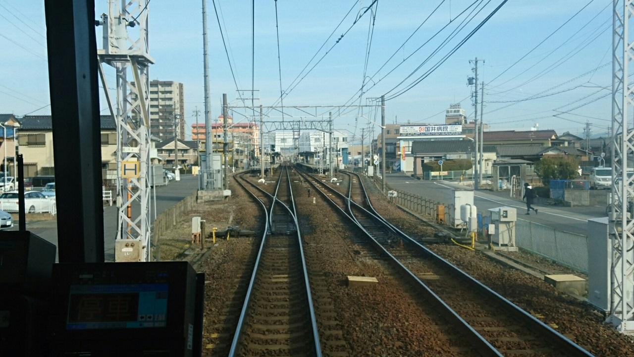 2018.2.19 岐阜 (84) 岐阜いきふつう - 新木曽川 1280-720