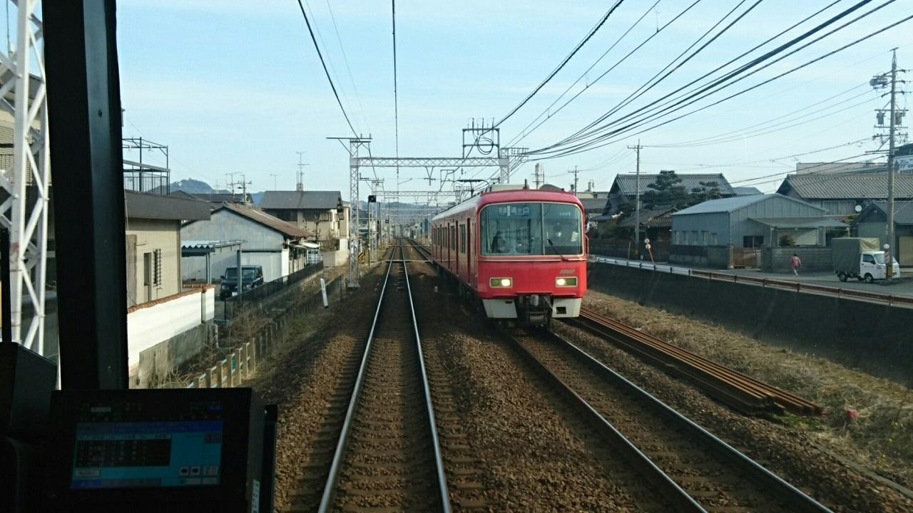 2018.2.19 岐阜 (96) 岐阜いきふつう - 笠松-岐南間 1280-720