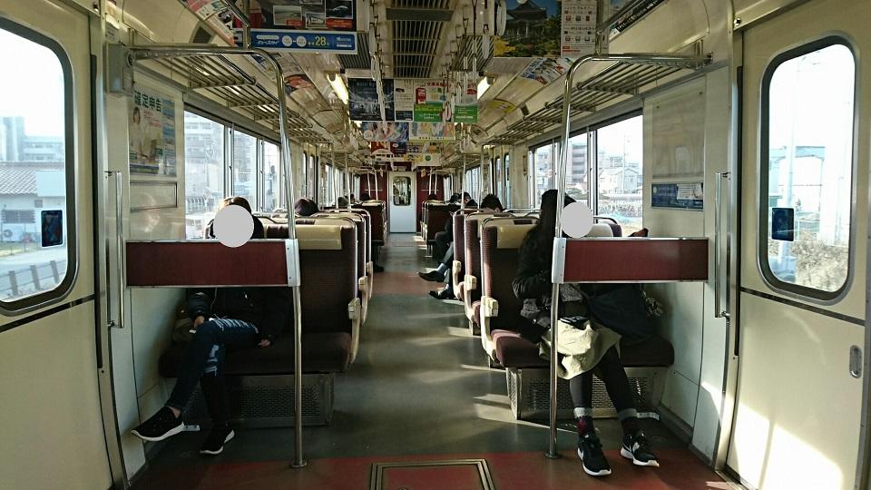 2018.2.19 岐阜 (98) 岐阜いきふつう - 岐南 960-540