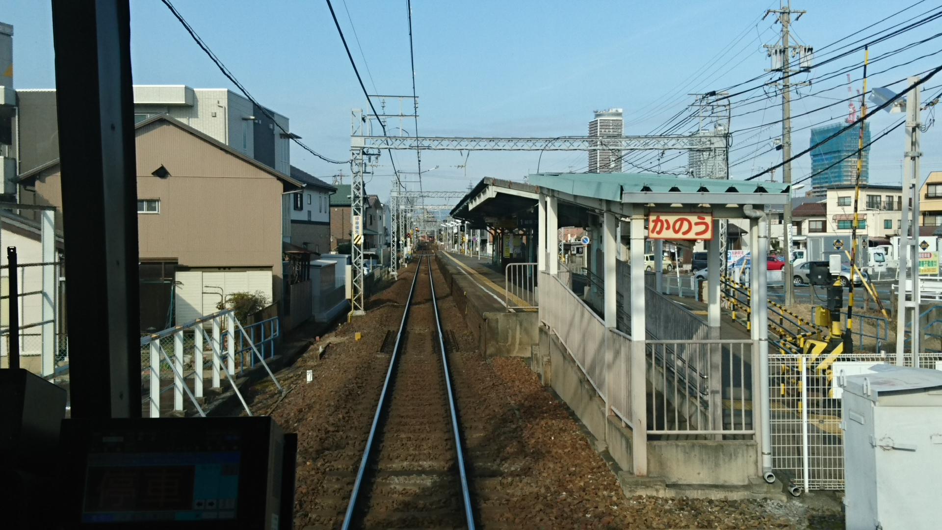 2018.2.19 岐阜 (102) 岐阜いきふつう - 加納 1920-1080