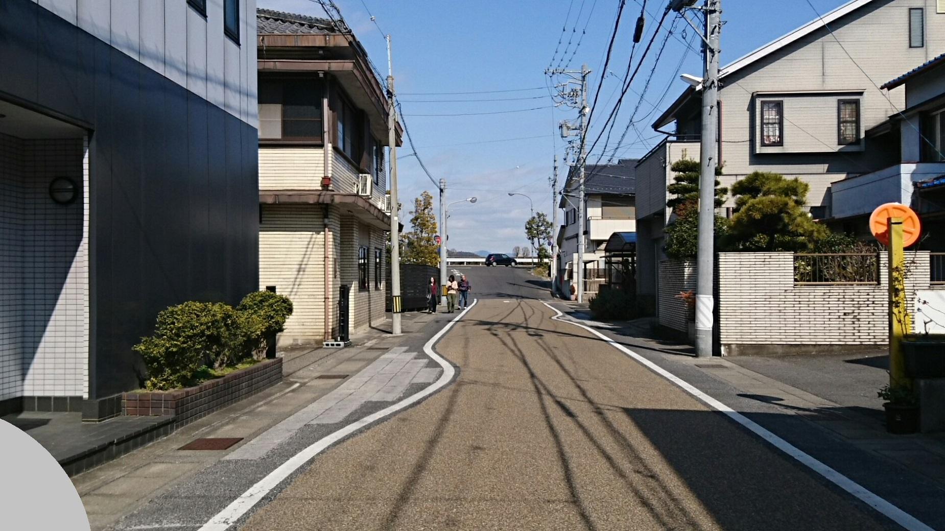 2018.2.19 岐阜 (147) 堤防道路につきあたる 1850-1040