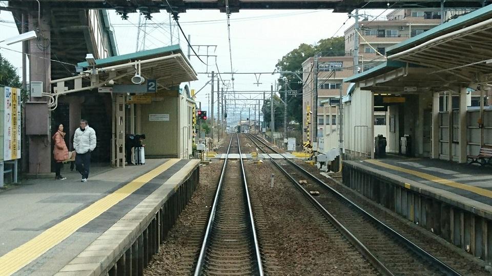 2018.2.21 東岡崎 (3) 東岡崎いきふつう - 宇頭 960-540