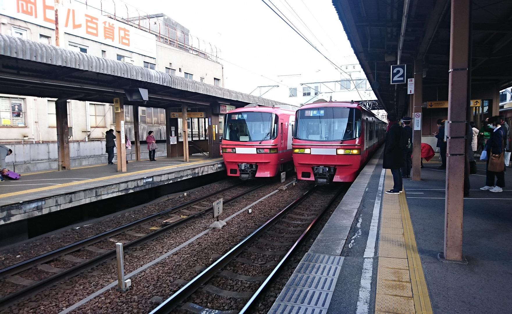 2018.2.23 東岡崎 (14) 東岡崎 - 岐阜いき特急 1760-1080