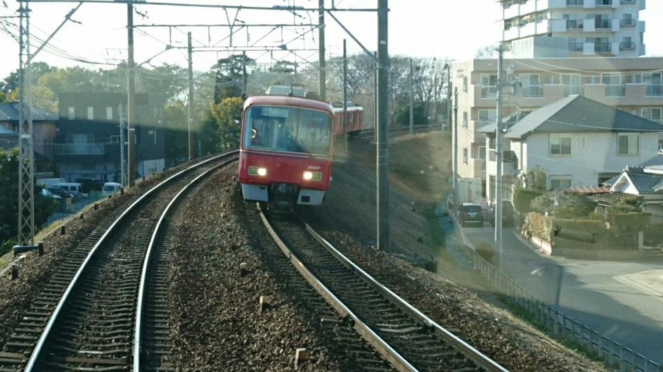 2018.2.23 東岡崎 (15) 岐阜いき特急 - 東岡崎-岡崎公園前間 960-540