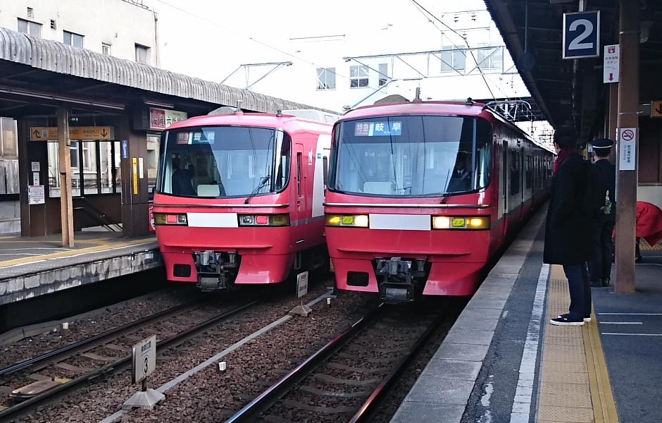 2018.2.23 東岡崎 (14-1) 東岡崎 - 岐阜いき特急 940-600
