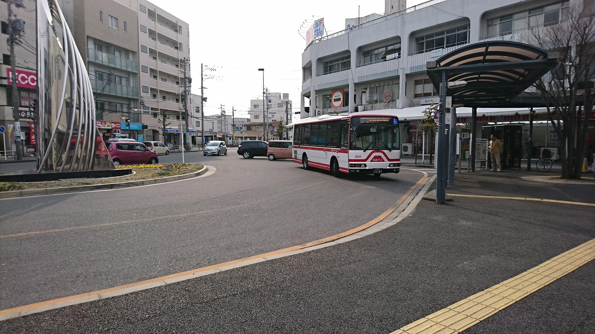 2018.2.24 アンフォーレ (4) しんあんじょう - 名鉄バス 1920-1080