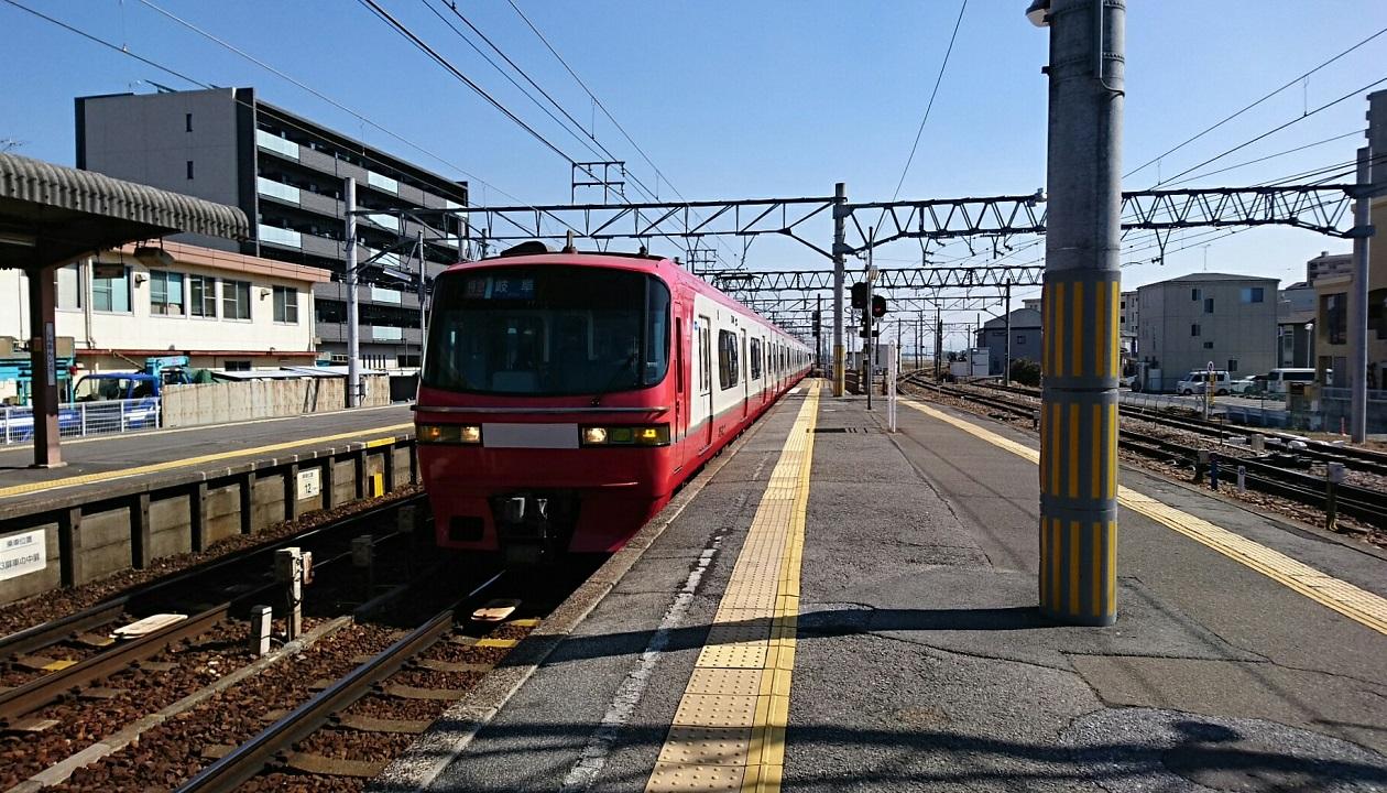 2018.2.26 富士松 (8) しんあんじょう - 岐阜いき特急 1260-720