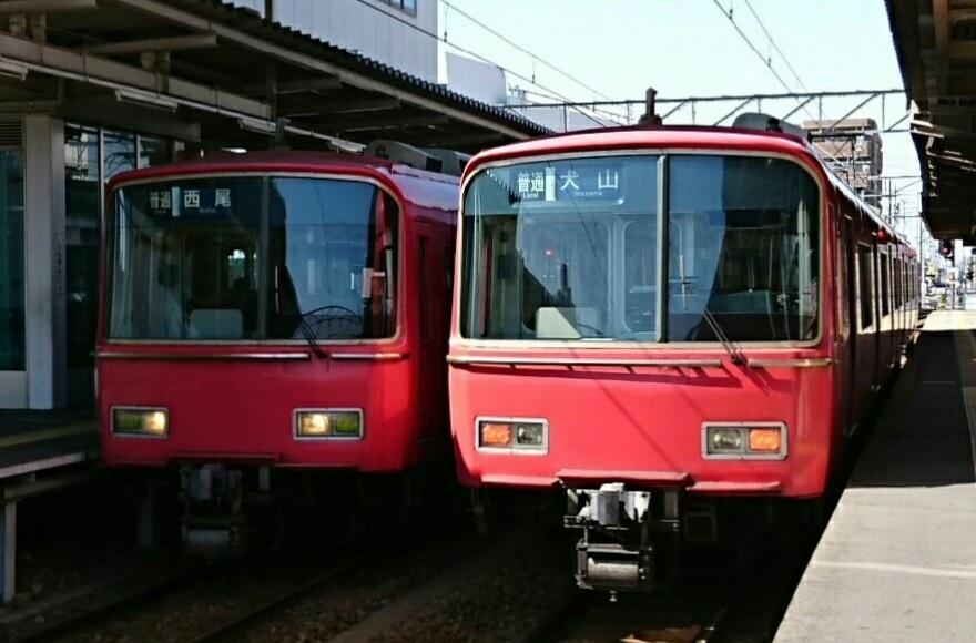 2018.2.26 富士松 (6-1) しんあんじょう - 西尾いきふつうと犬山いきふつう 880-580