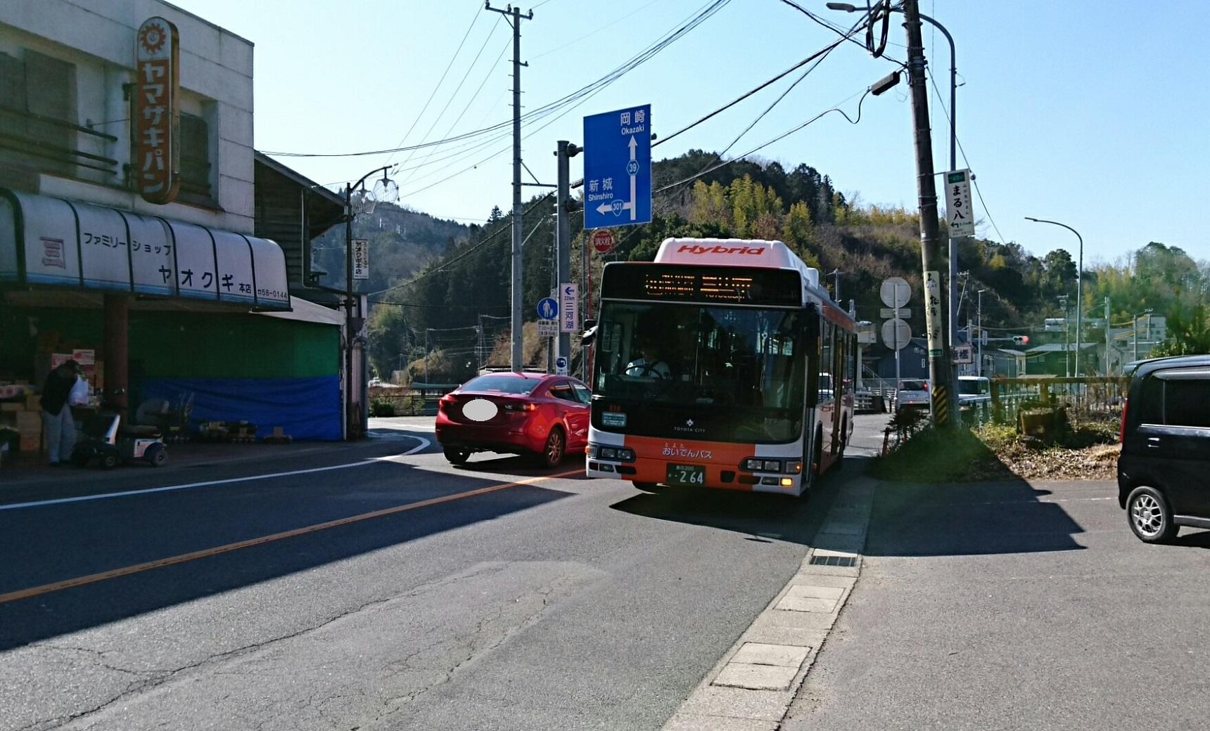 2018.2.27 (94) 新双竜橋北バス停 - 豊田市いきバス 1720-1040