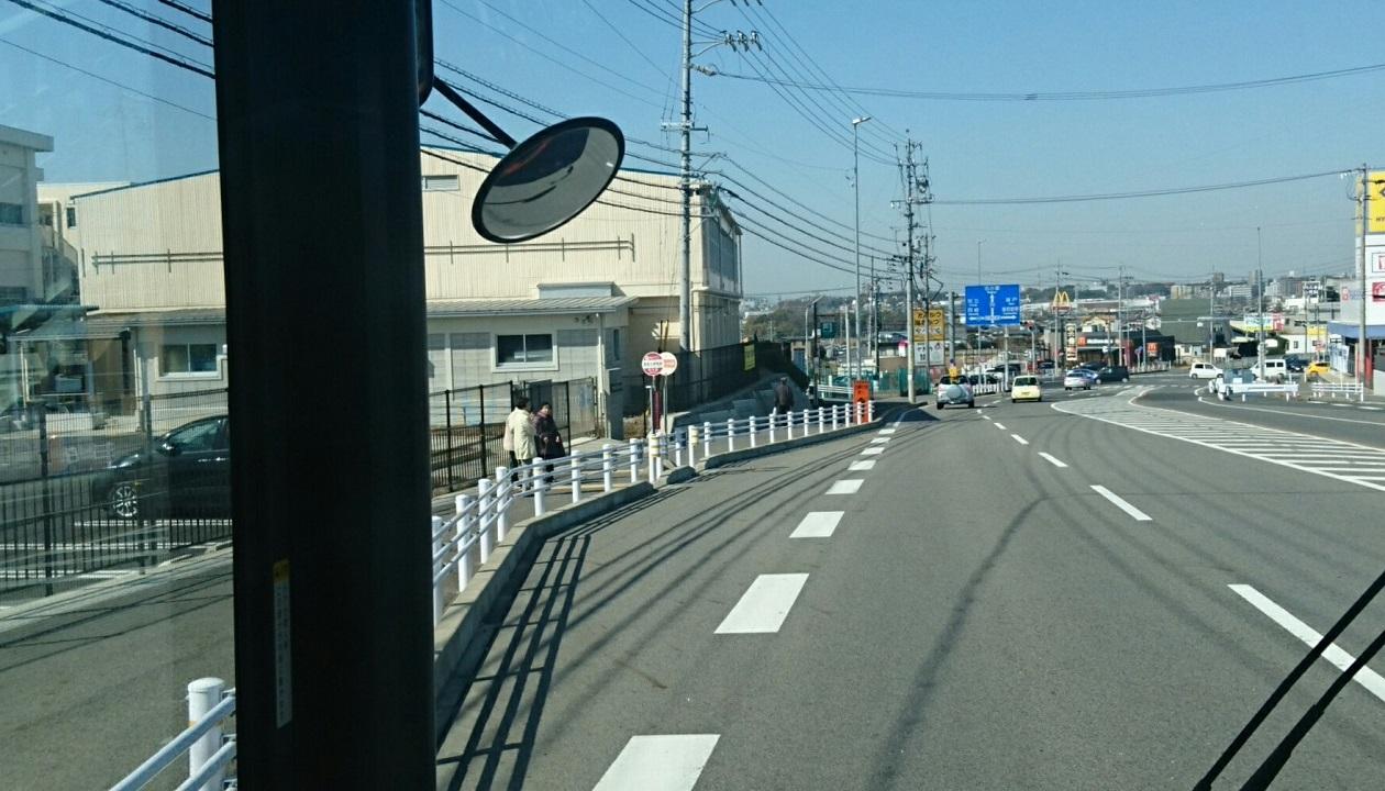 2018.2.27 (99) 豊田市いきバス - 野見小学校前バス停 1260-720