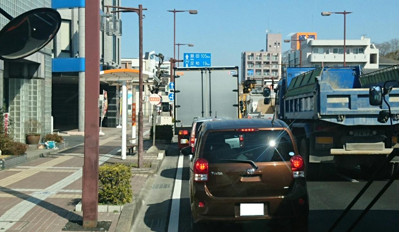 2018.2.27 (102) 豊田市いきバス - 豊田本町バス停 1240-720