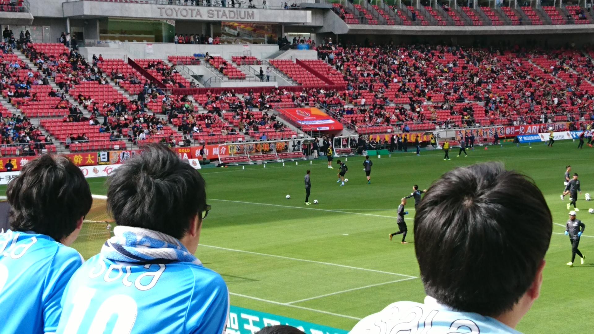 2018.3.3 豊田市 (19) 豊田スタジアム - ジュビロの練習