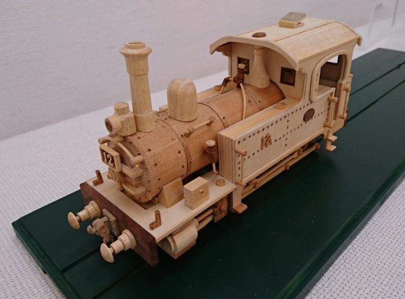 2018.3.20 木工細工蒸気機関車展 (1) 蒸気機関車12号 1460-1080