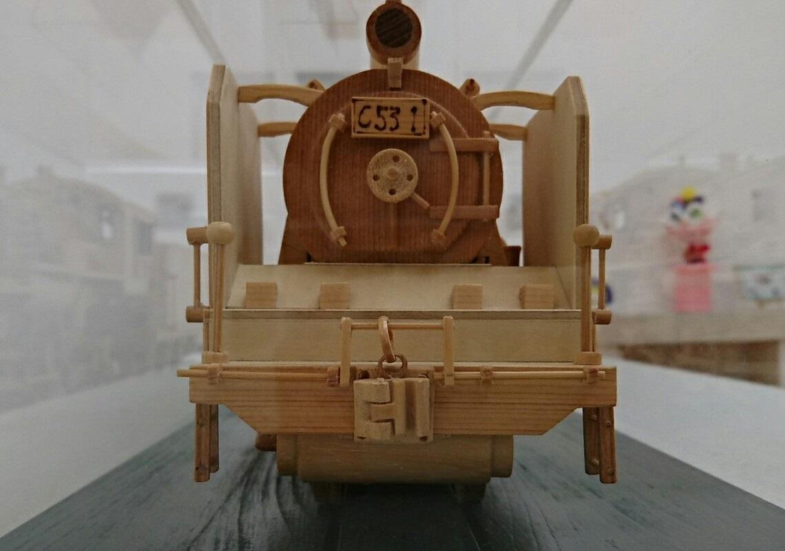 2018.3.22 木工細工蒸気機関車作品展 (8) C531号 1140-800