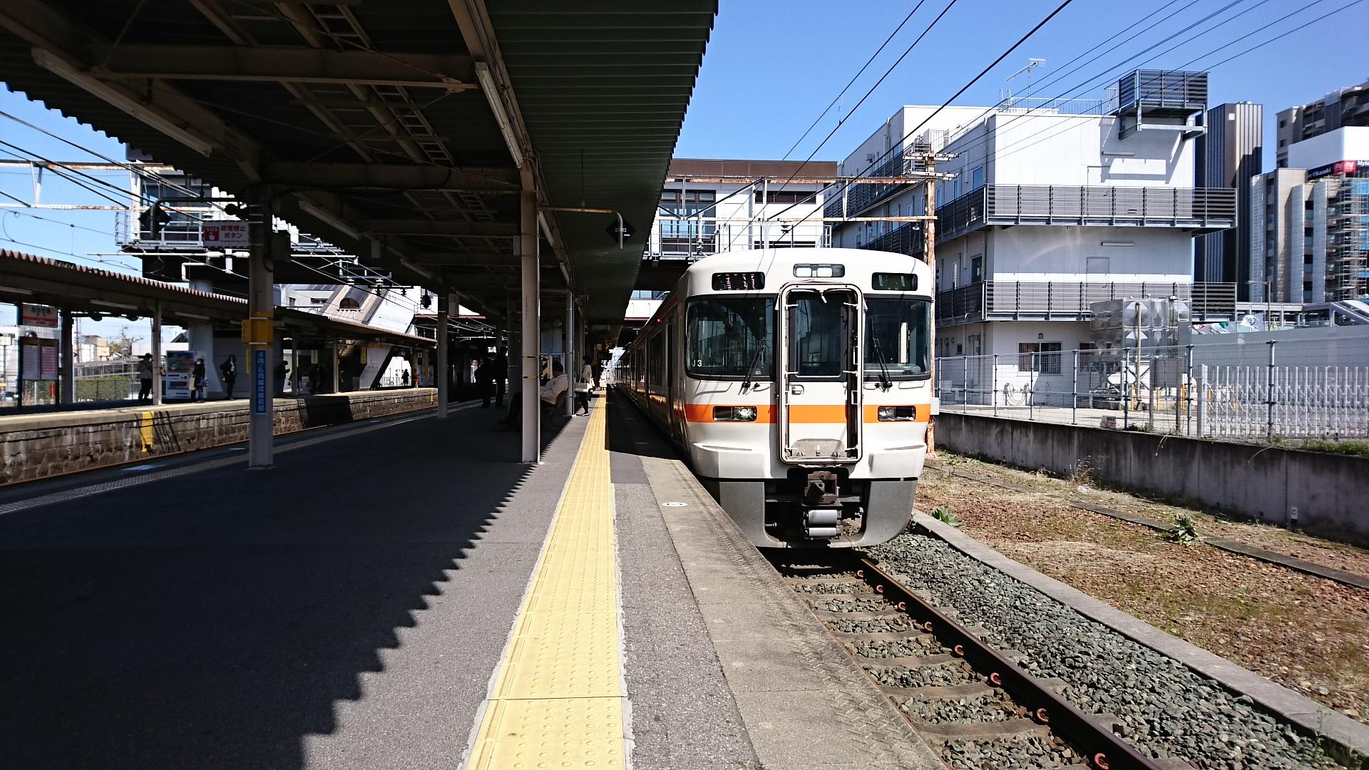 2018.3.23 東海道線 (7) 岡崎 - 豊橋いきふつう 1920-1080