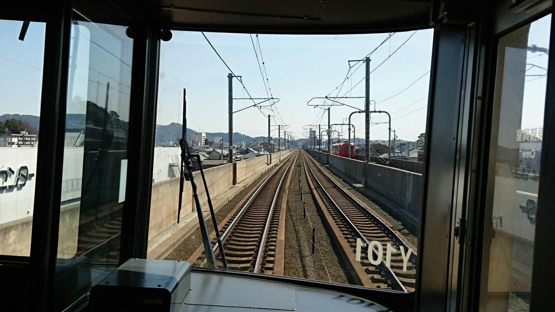 2018.3.23 東海道線 (11) 豊橋いき快速 - 三河塩津-蒲郡間 1440-810