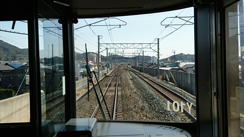 2018.3.23 東海道線 (13) 豊橋いき快速 - 三河三谷てまえ 1440-810