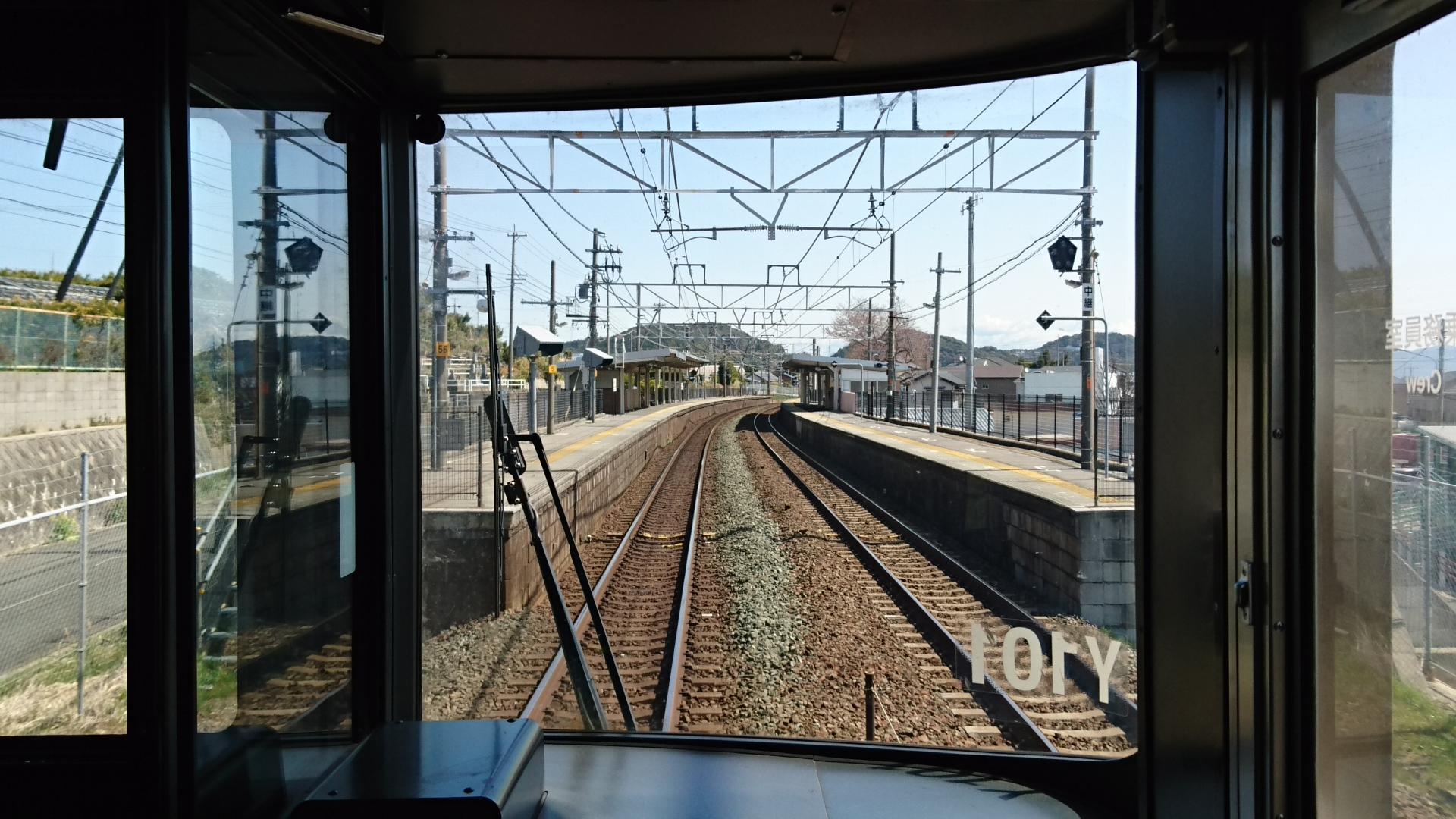 2018.3.23 東海道線 (17) 豊橋いき快速 - 三河大塚 1920-1080