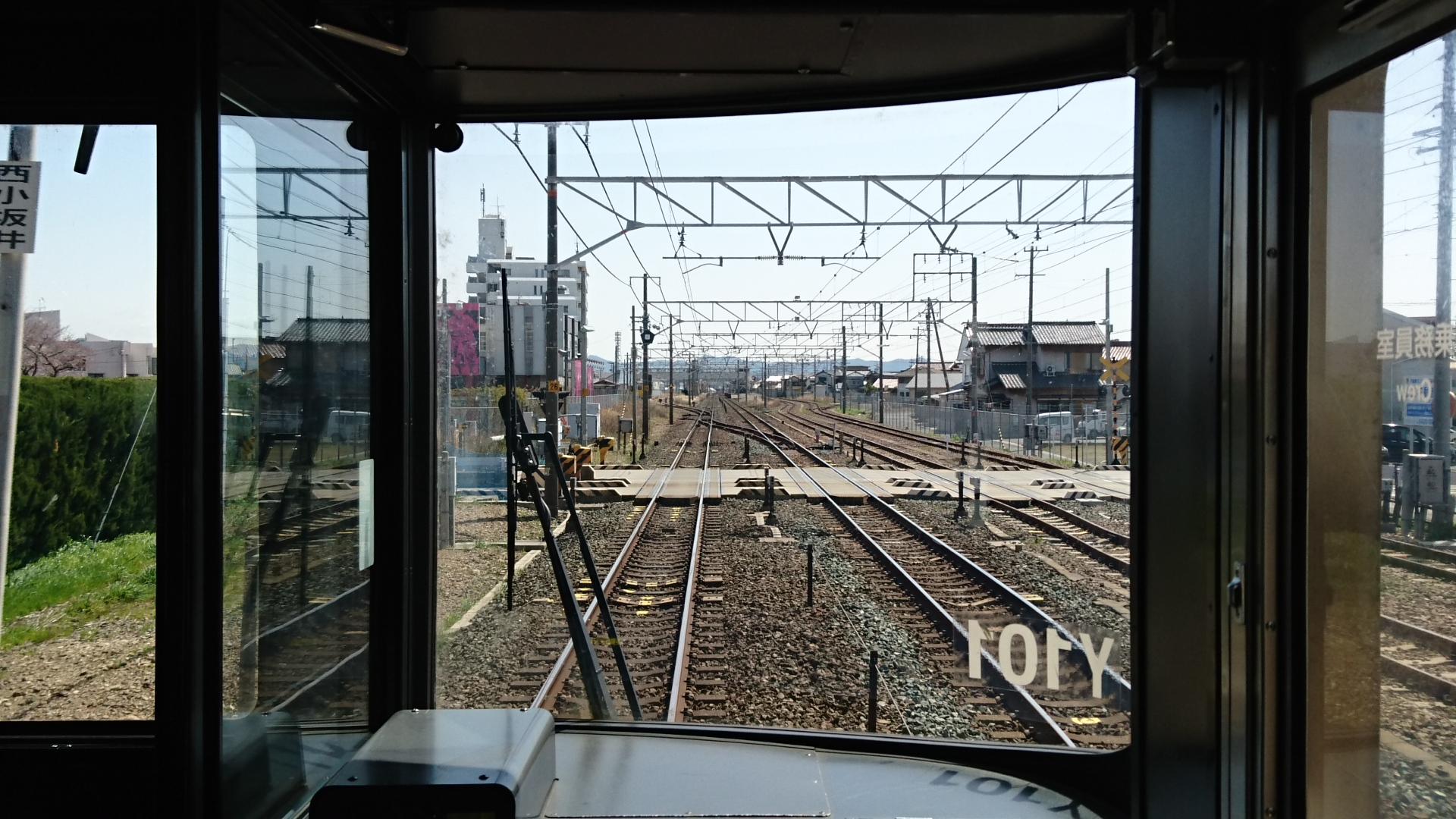 2018.3.23 東海道線 (22) 豊橋いき快速 - 西小坂井てまえ 1920-1080