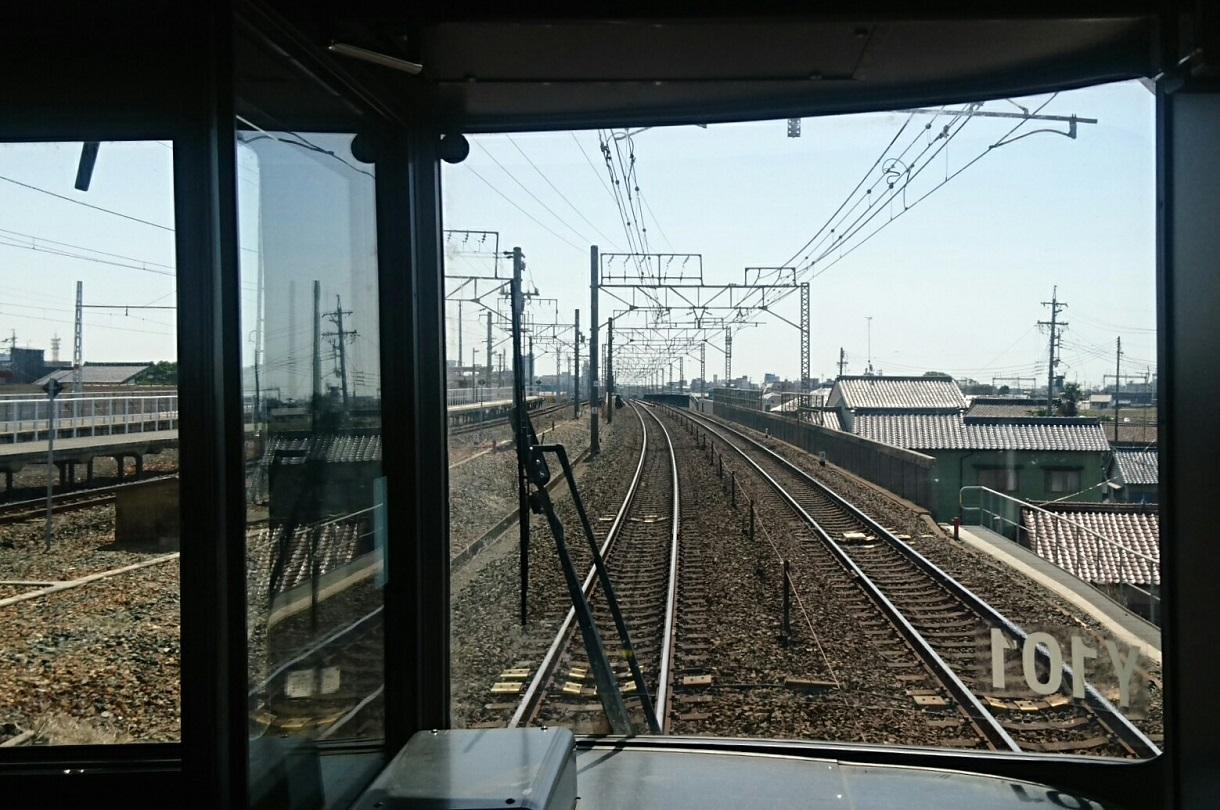2018.3.23 東海道線 (25) 豊橋いき快速 - 下地 1220-810