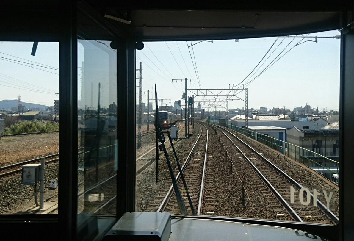 2018.3.23 東海道線 (26) 豊橋いき快速 - 下地-船町間 1190-810