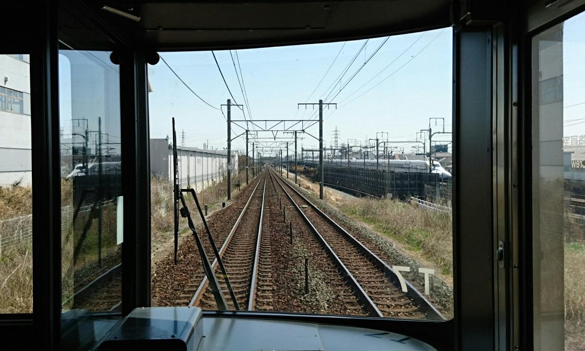 2018.3.23 東海道線 (33) 掛川いきふつう - 豊橋-二川間 1200-720