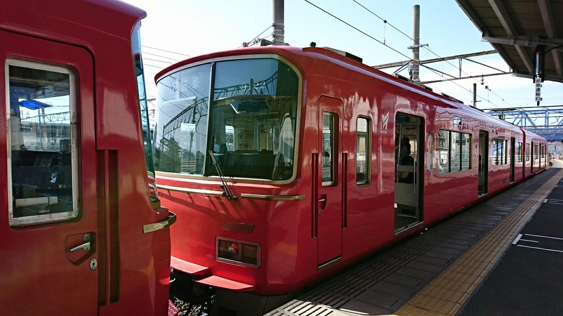 2018.3.23 東海道線 (69) 豊橋 - 岐阜いき急行 1850-1040