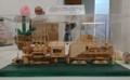 2018.3.24 木工細工蒸気機関車作品展 (5) ブリキのおもちゃ X-324 1500-920