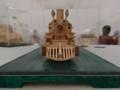 2018.3.24 木工細工蒸気機関車作品展 (7) ブリキのおもちゃ X-324 1340-1000
