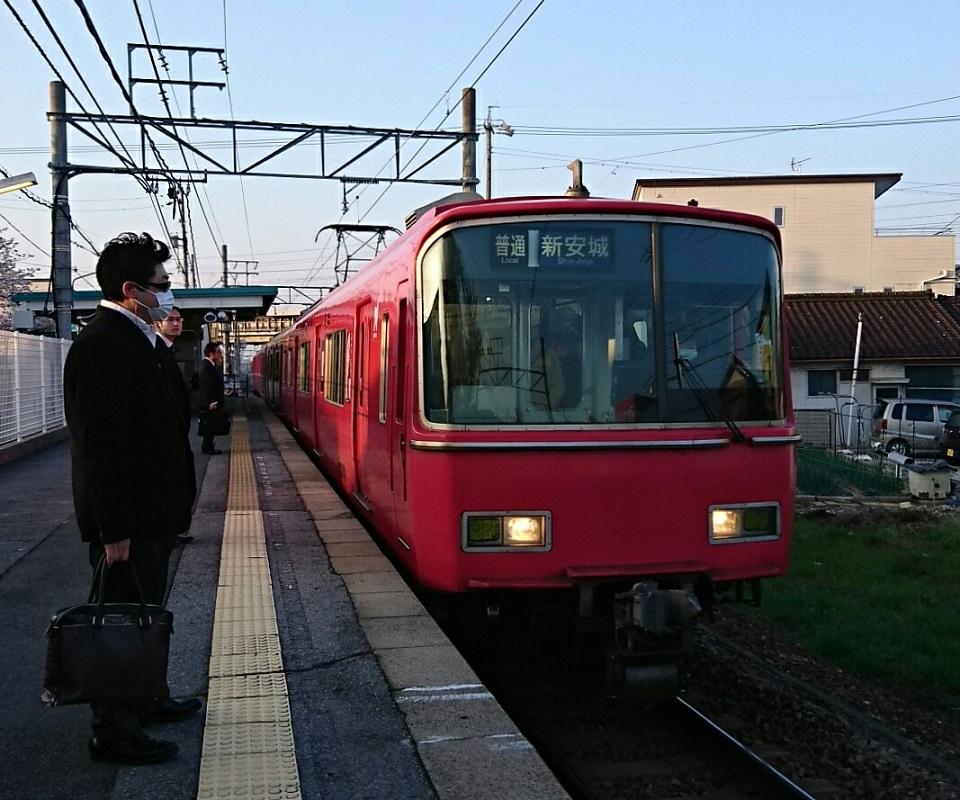 2018.3.28 金谷まで (1) 古井 - しんあんじょういきふつう 960-800