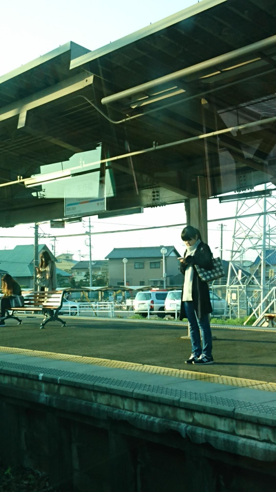 2018.3.28 金谷まで (3) 豊橋いき準急 - 矢作橋 1080-1920