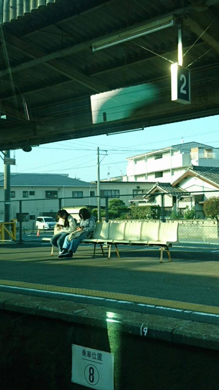 2018.3.28 金谷まで (10) 豊橋いき急行 - 伊奈(はんたいホーム) 720-1280