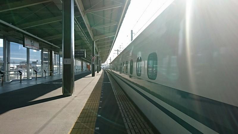 2018.3.28 金谷まで (29) 掛川 - 東京いきこだま 800-450