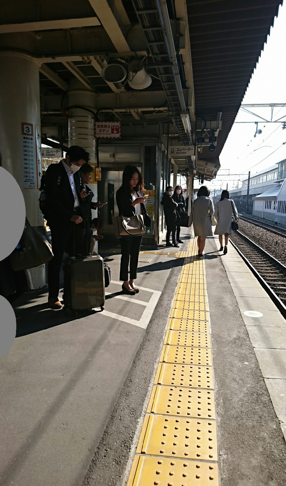 2018.3.28 金谷まで (30) 掛川 - 3番のりば 1000-1700