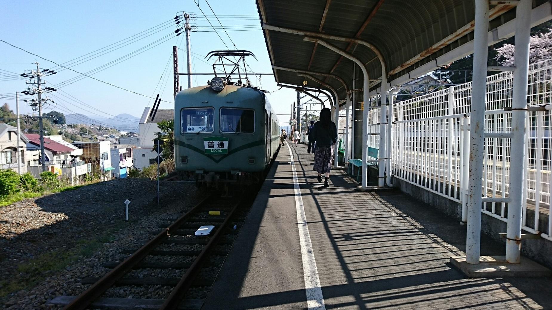 2018.3.28 大井川本線 (2) 金谷 - 千頭いきふつう(うしろ) 1850-1040