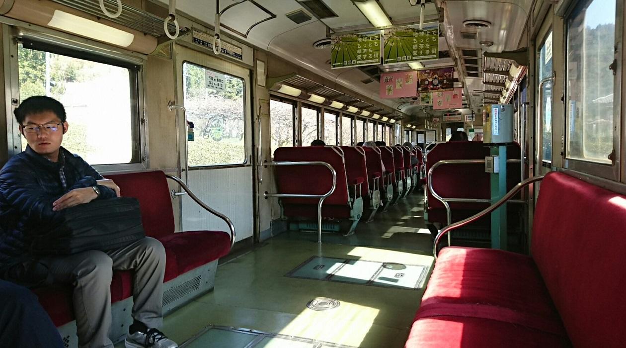 2018.3.28 大井川本線 (55) 千頭いきふつう - 崎平 1260-700