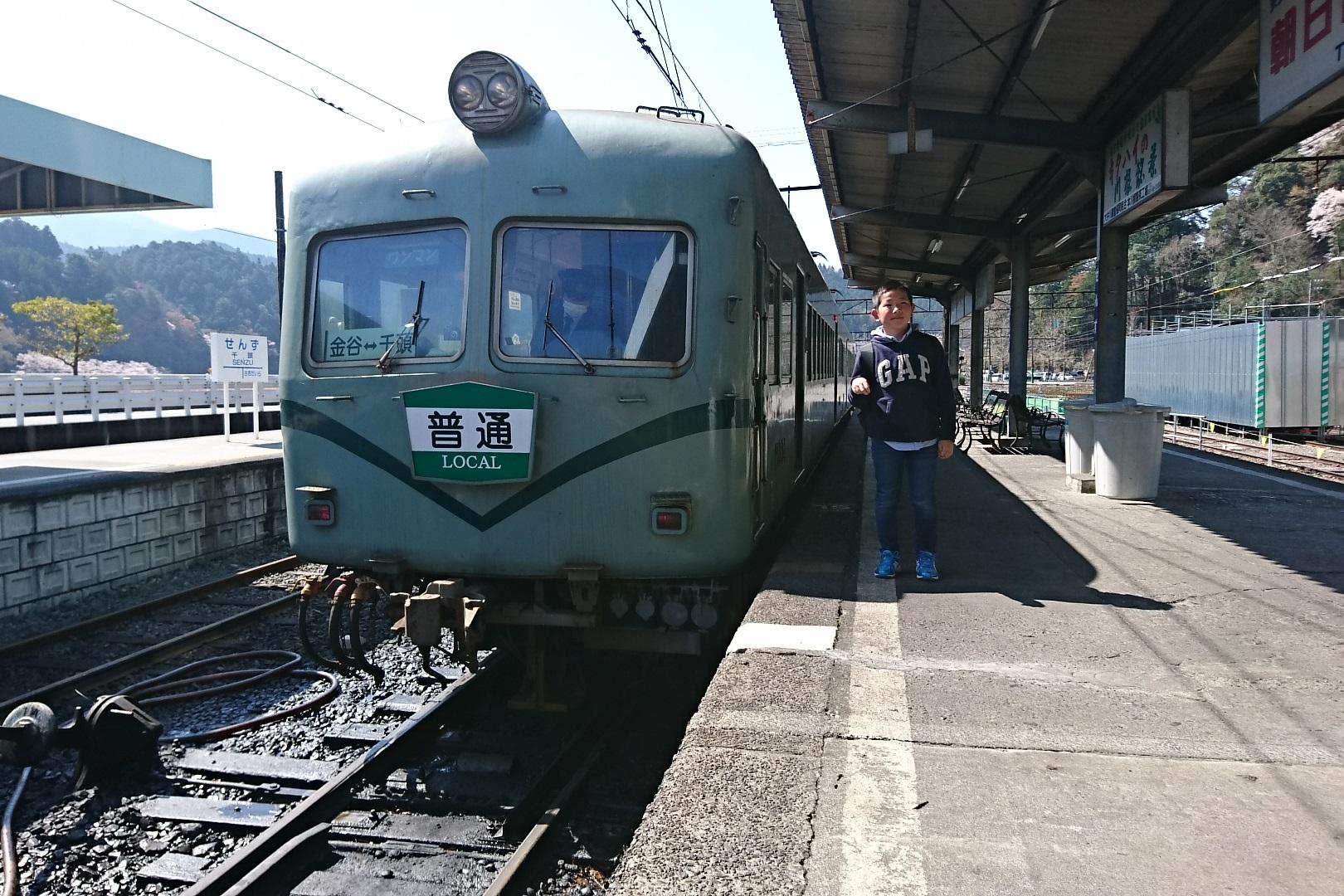 2018.3.28 大井川本線 (62) 千頭 - 千頭いきふつう 1620-1080