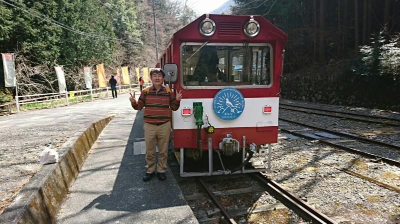 2018.3.28 井川線 (116) 井川 - 井川いき列車 1710-960
