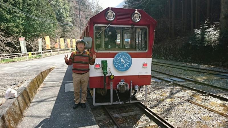 2018.3.28 井川線 (117) 井川 - 井川いき列車 1750-980