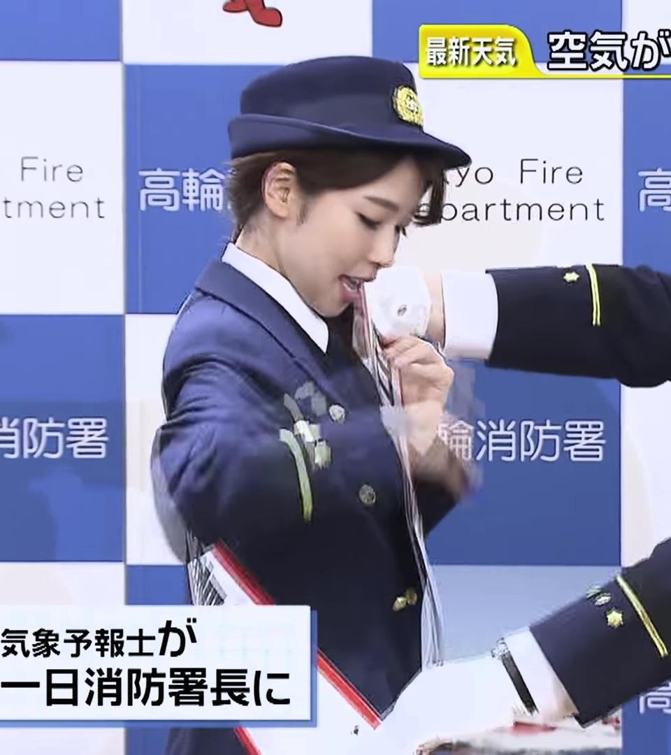 2018.3.6 なっちゃんの1日消防署長 (3) 960-1080