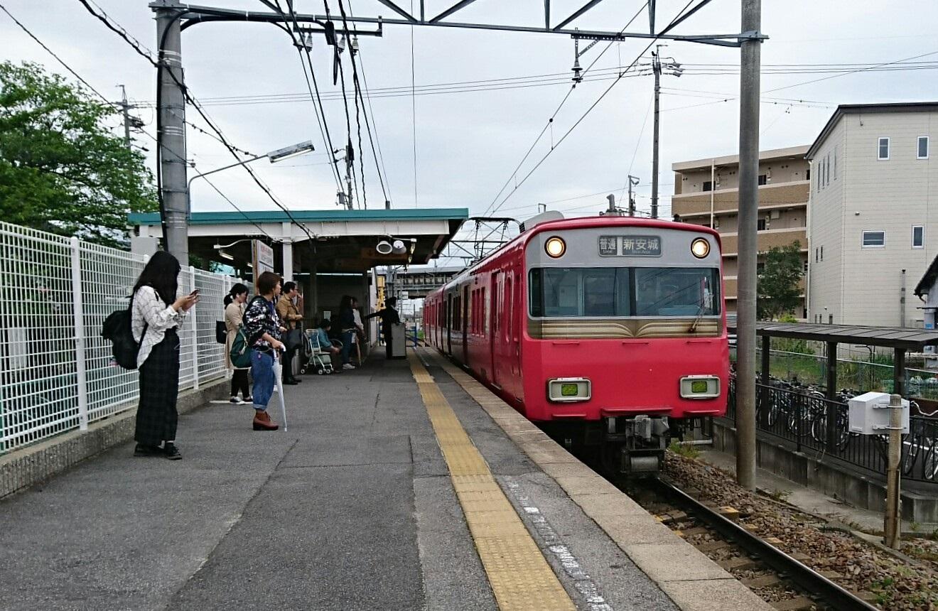 2018.4.24 名古屋 (1) 古井 - しんあんじょういきふつう 1320-860