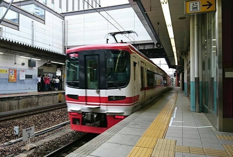 2018.4.24 名古屋 (6) 金山 - 岐阜いき特急 800-540