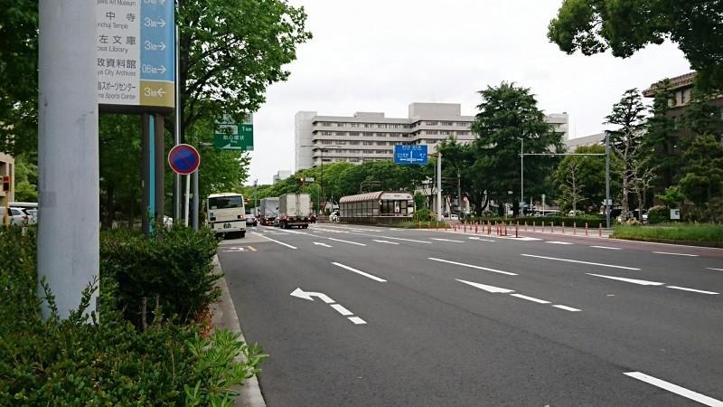 2018.4.24 名古屋 (10) 市役所バス停 800-450
