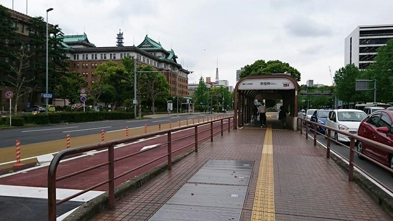 2018.4.24 名古屋 (11) 市役所バス停 800-450