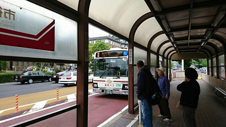 2018.4.24 名古屋 (13) 市役所バス停 - 引山いきバス 960-540