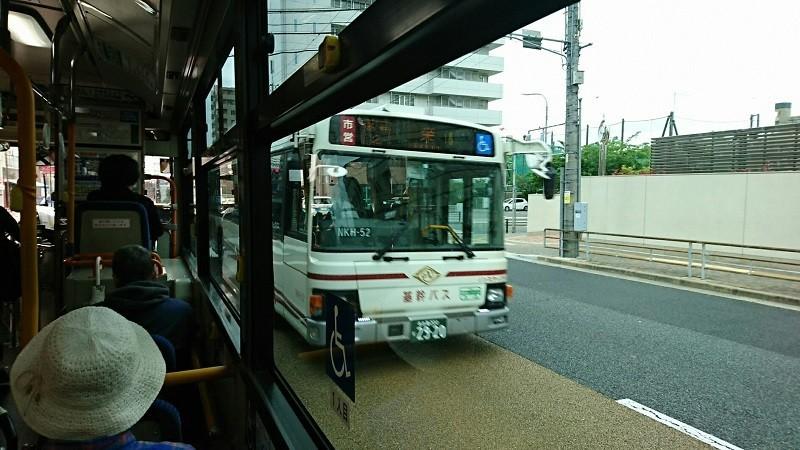 2018.4.24 名古屋 (15) 引山いきバス - 白壁バス停(栄いきバス) 800-450