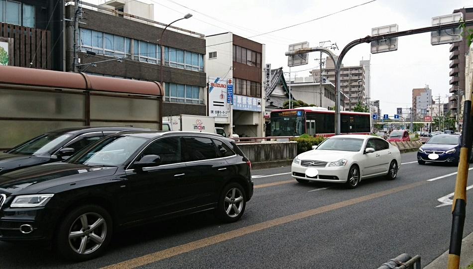 2018.4.24 名古屋 (18) 赤塚白壁バス停 - 愛知医科大学病院いきバス 950-540