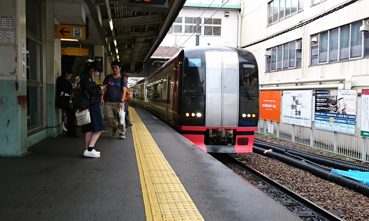 2018.4.24 名古屋 (29) 神宮前 - 豊橋いき快速特急 1200-720