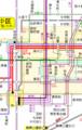 2018.4.24 赤塚白壁へのバス路線図 1080-1700