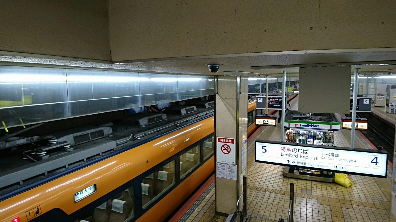 2018.4.26 上野 (2) 名古屋 - 大阪難波いき特急 1440-810